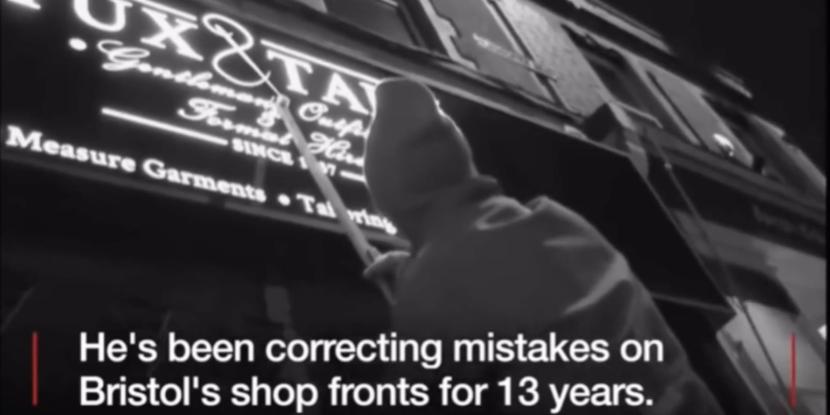 Bristol's grammar vigilante